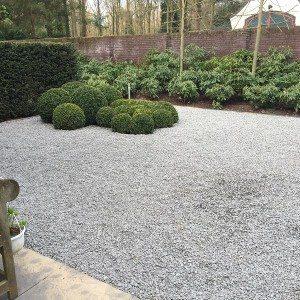 tuin onderhoudsvriendelijk