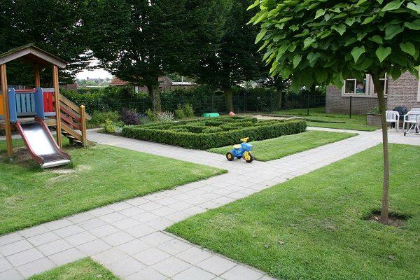 groene schoolpleinen geven rust