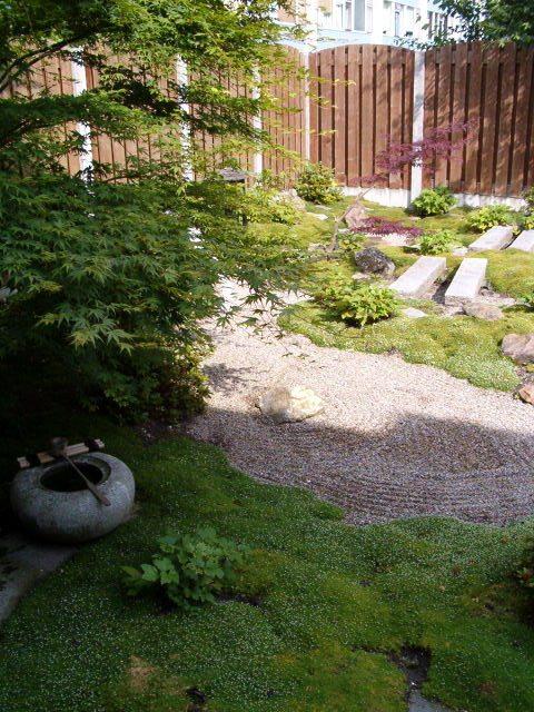 laten ontwerpen van japanse tuin