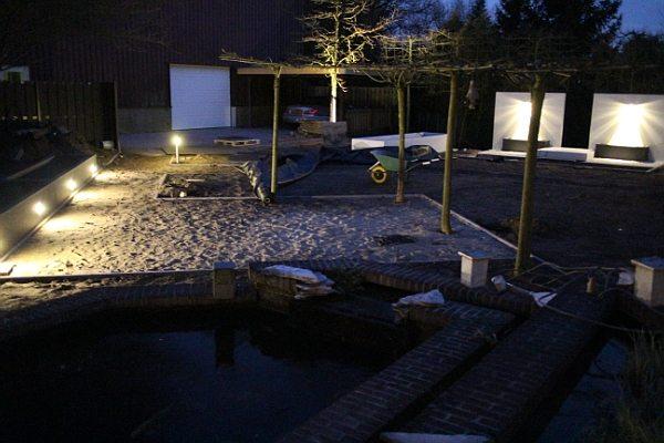 plan voor tuinverlichting